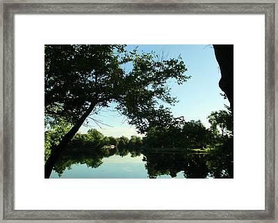 Summer Pond Framed Print by John Adams