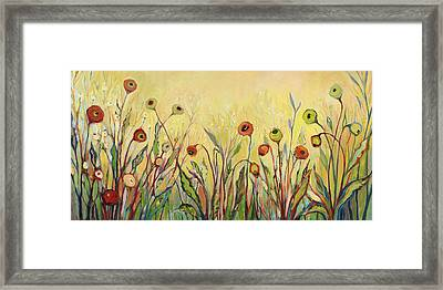 Summer Poppies Framed Print by Jennifer Lommers