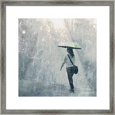 Summer Rain Framed Print