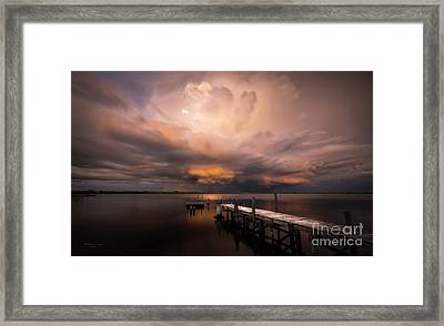 Summer Rains Framed Print