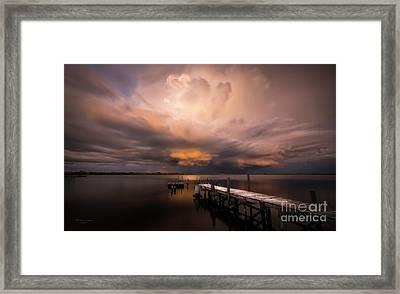 Summer Rains Framed Print
