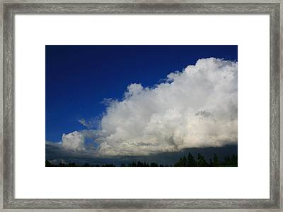 Summer Rains Over Mill Creek Framed Print