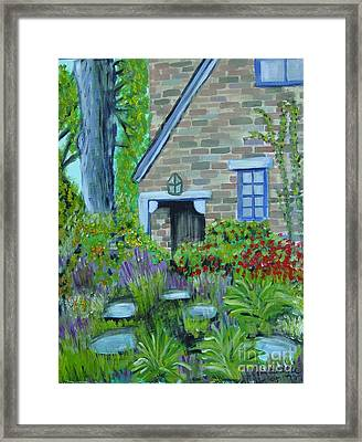 Summer Retreat Framed Print