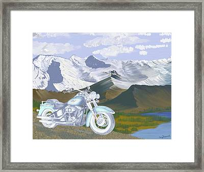 Summer Ride Framed Print