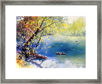 Summer River Framed Print