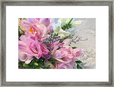 Summer Roses 3 Framed Print