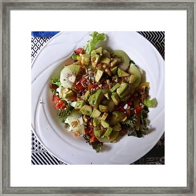 Framed Print featuring the photograph Summer Salad by Joel Deutsch