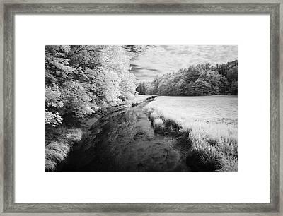 Summer Salt Marsh - Wells Maine Framed Print