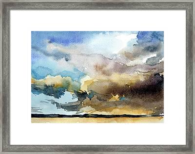 Summer Sandstorm Framed Print by Stephanie Aarons
