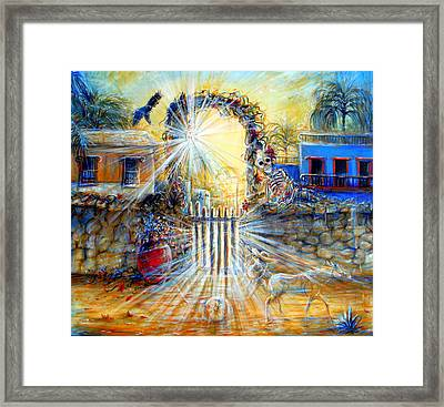 Framed Print featuring the painting Summer Sanity II by Heather Calderon