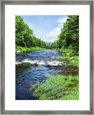 Summer Scene Rangeley Maine  -70742 Framed Print