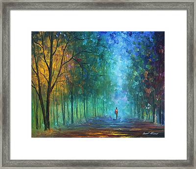 Summer Scent Framed Print by Leonid Afremov