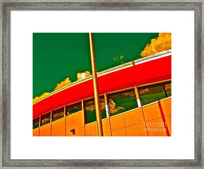 Summer School Framed Print by Chuck Taylor