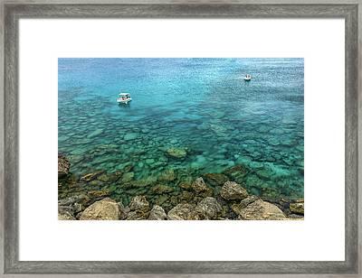 Summer Sea Framed Print