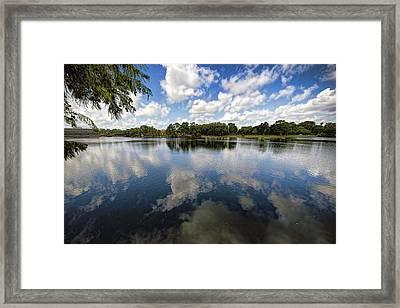 Summer Skies Framed Print