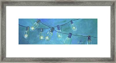 Summer Sky 3 Framed Print by Lee Bauman