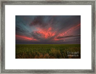 Summer Sky Framed Print by Ian McGregor