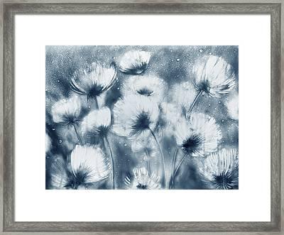 Summer Snow Framed Print