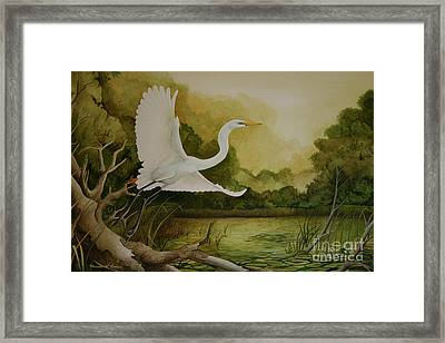 Summer Solitude Framed Print