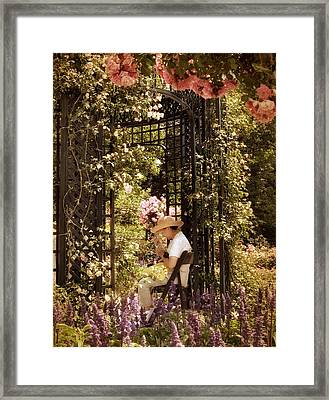 Summer Solitude Framed Print by Jessica Jenney