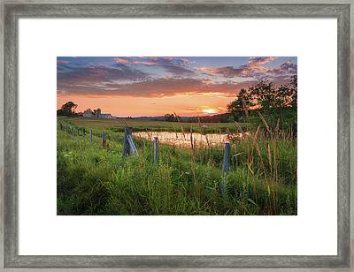 Summer Sorbet Framed Print