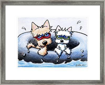 Summer Splash Framed Print