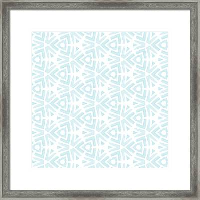 Summer Splash- Pattern Art By Linda Woods Framed Print by Linda Woods