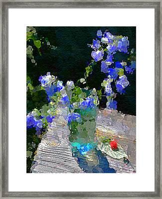 Framed Print featuring the photograph Summer Still Life by Vladimir Kholostykh