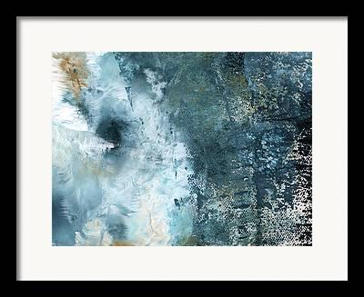 Storm Clouds Mixed Media Framed Prints