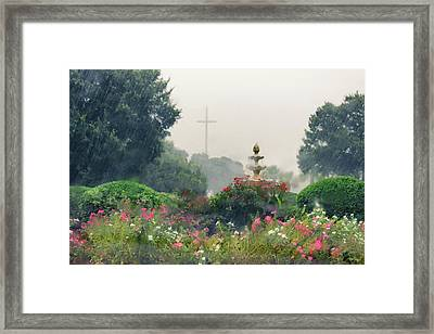 Summer Storm Framed Print by Iryna Goodall