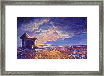 Summer Storm Framed Print by Joanne Smoley