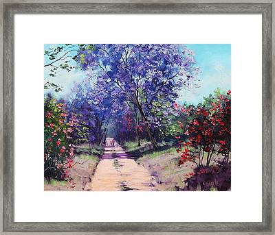 Summer Stroll Framed Print by Graham Gercken