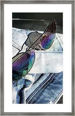 Summer Stuff Framed Print