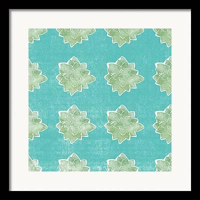 Botanical Pattern Framed Prints