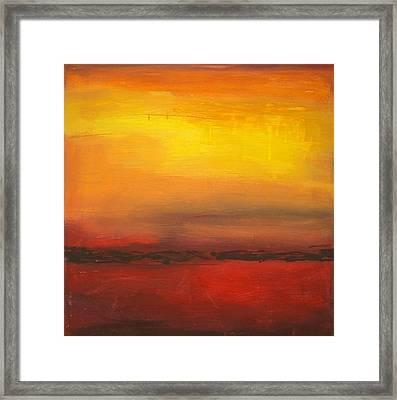 Summer Sun Framed Print by Ora Birenbaum