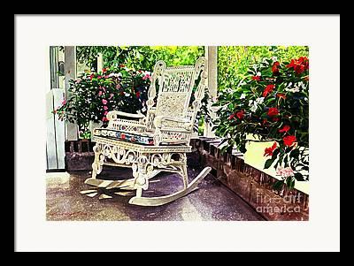 Sun Porch Framed Prints