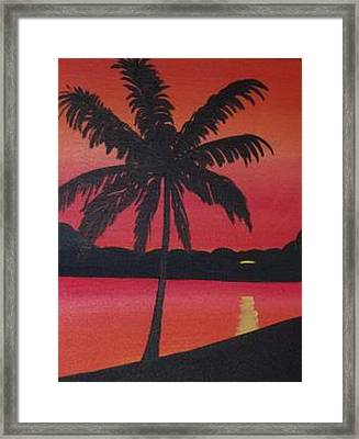 Summer Sun Framed Print
