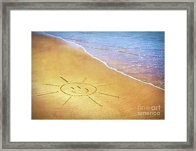 Summer Sun Framed Print by Tim Gainey