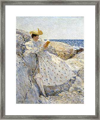 Summer Sunlight Framed Print by Childe Hassam