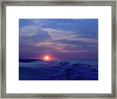 Summer Sunrise I I Framed Print