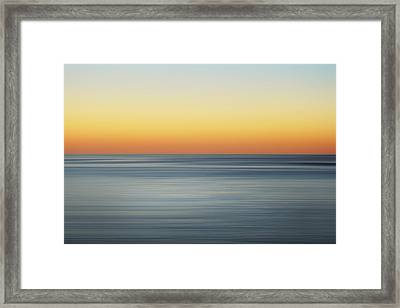 Summer Sunset Framed Print by Az Jackson
