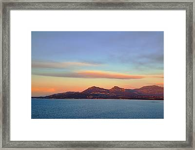 Summer Sunset On The Sea Framed Print by Sergey Pro