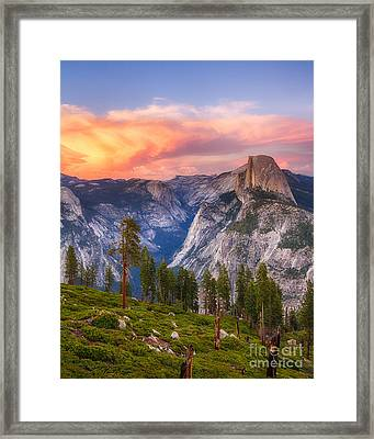 Summer Sunset Framed Print