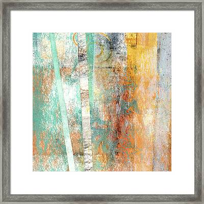 Summer Sunshine Square Version Framed Print by Carol Leigh