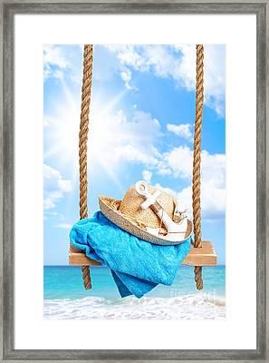 Summer Swing Framed Print