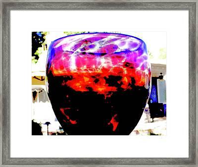 Summer Thirst Quencher Framed Print