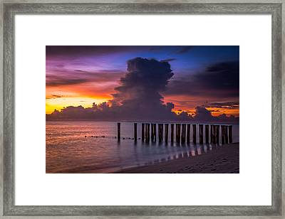 Summer Thunder Framed Print by Nick  Shirghio