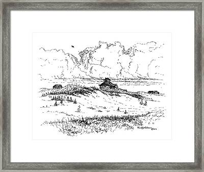 Summer Thunderheads Framed Print