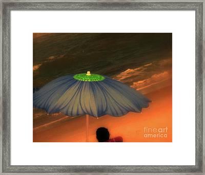 Summer-time Framed Print by Susanne Van Hulst