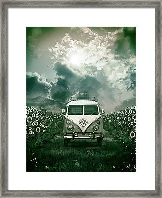 Summer Trip 3 Framed Print by Bekim Art